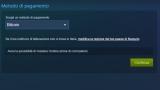 Steam adesso accetta i Bitcoin come metodo di pagamento